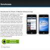 SonoAccess iPhone App