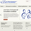 An ultrasound information hub website